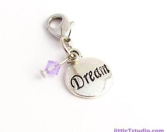 Dream Jewelry Clippie™! - With a Genuine Purple Swarovski Crystal!