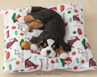 Custom Pet Portrait Polymer Clay Cat or Dog Sculpture Original Animal Figurine