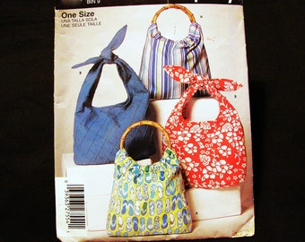 Slouch Bag Pattern Handbag Sewing Purse Pattern Easy to Sew Pattern