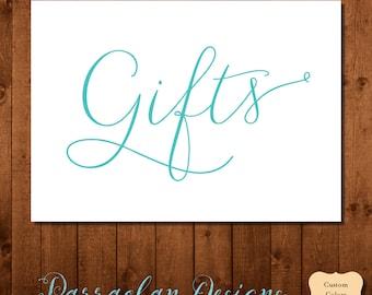 Wedding Gifts Sign - Gift Sign, Custom Wedding Gift Sign, FS01