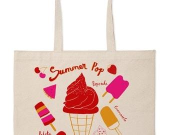 Summer pop Market Tote