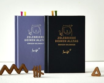 Perpetual Calendar Luxury edition for you! Planer, diary with colorful illustrations for every week! Perfect for Christmas and as a present.