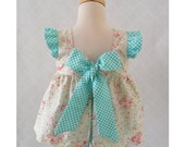 Baby Girl Pinafore Top and Bloomers, Girls Open Back Pinafore Set, Summer Outfit, Girls Birthday Outfit, Floral Pinafore Outfit, Floral Top