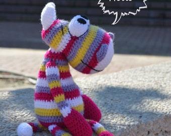 Amigurumi pattern - Rainbow Hippo