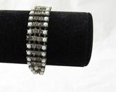 Ella - vintage rhinestone costume bracelet