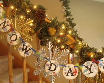 Winter Banners-Snow Days Banner-Winter Classroom-Holiday Banners-Christmas Banners-Holiday Garlands-