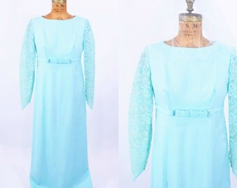 """1960s formal maxi 