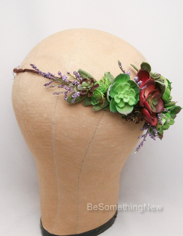 Floral Headdress/ Floral Crown/ Flower Crown/ Flower ...