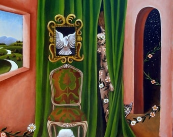 Fine Art Print  of Inner Light - Original painting by Catherine Nolin