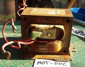 Microwave oven transformer, hobby MOT, upcycle, recycle, repurpose, maker, mad science, DPC