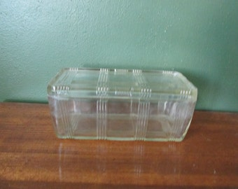 Refrigerator Dish Clear Glass
