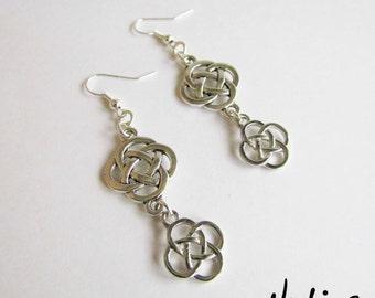NEW Dangling Celtic Knot Earrings (ERSP3)