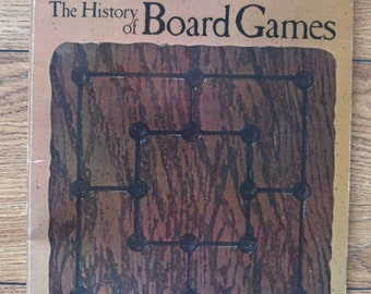 vintage 70s The History Of Board games by Robert McConville