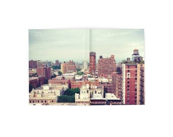 Hardcover Blank Book ~ NYC ~ Upper West Side ~ Sketchbook ~ Notebook ~ Urban Photography