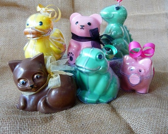 Chocolate Pig, Duck, Frog, Dinosaur, Kitten or Teddy Bear