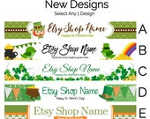 Etsy Shop Banners - Etsy Banners - St. Patrick's Day Etsy Banners - Saint Patrick's Day Etsy Banners - Etsy Shop Banners Selections - 2
