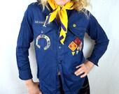 Vintage Cub Scout Neckerchief Scarf