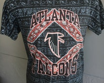 Atlanta Falcons 1990s NFL football vintage tee shirt - size large