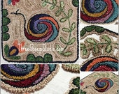 Punch Needle Pattern - Into The Garden - #PN537 - Needlepunch Embroidery