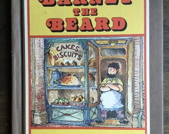 Barney the Beard by Eve Bunting, Parent's Magazine Press, Vintage Children's Book