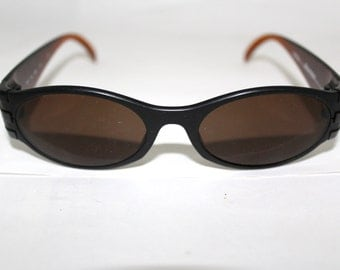 1 Rare ADIDAS  Sunglasses NOS 80s 90s Made in Austria by Masters model A319 Dark Brown