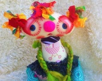 Baby Beea Art Doll- a sweet Whimsical Creation