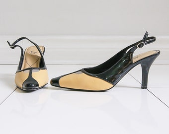 Life Stride, 90s does 60s Slingback - Sz 9