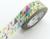 Japanese Colorful Triangle tape Pretty Tape
