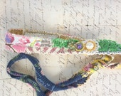 Upcycled Mixed Media Artsy Headband