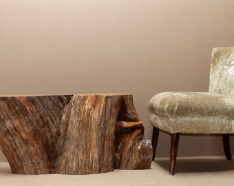 Coffee Table Root Tree Stump Juniper