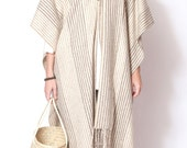 Mexican Wool Striped Soft Cape