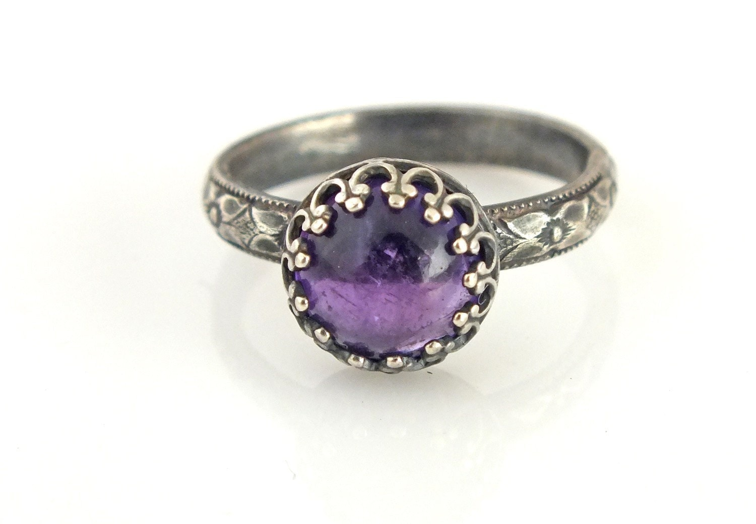 amethyst ring amethyst jewelry unique wedding ring womens