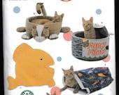Simplicity Crafts 5233 Cat Pet Beds carla reiss