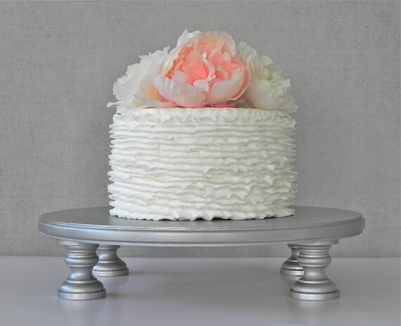Silver Cake Stand 12 Wedding Cake Stand Cupcake Silver
