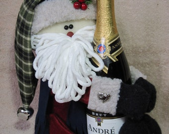Santa Wine Hugger