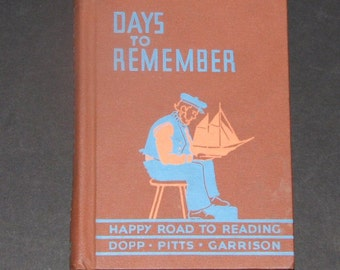 1940 Days to Remember - Happy Road to Reading 5th reader