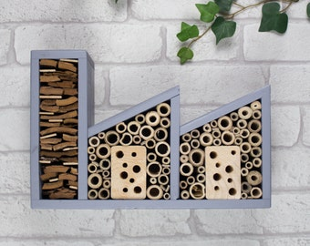 Double Insect Factory and Bee Hotel