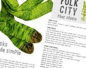"Sock Knitting Pattern ""Socks Made Simple"" PDF Instant Download"