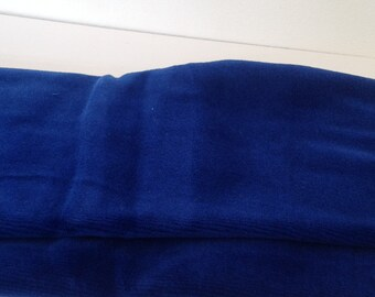 NICKY VELOUR VELVET - Royal blue