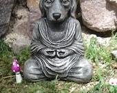 Dog Buddha, Zen Buddha Garden, Buddha sculpture, Zen garden, spiritual, Zen Meditation, home decor, meditation, Altar, religion, 706