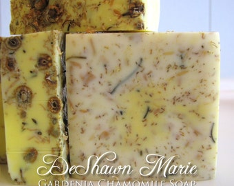 SOAP - 3 lb. Gardenia Chamomile Handmade Soap Loaf, Wholesale Soap Loaves