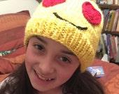 Emoji Hat - Bright Yellow