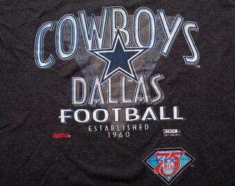 Dallas Cowboys Football T-Shirt, Star Logo Graphic Tee, NFL, Vintage 90s