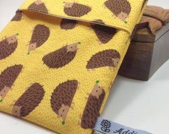 reusable snack bag porcupine/hedgehog