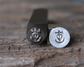 Carmague Metal Stamp-8mm Size-Steel Stamp-New Metal Design Stamps-by Metal Supply Chick-DCH54