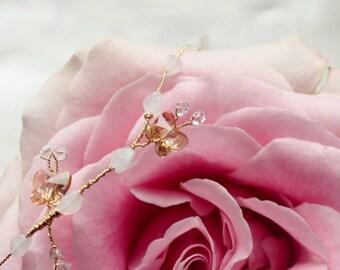 Delicate butterflies bracelet, bridal delicate jewelry, DesireFlu