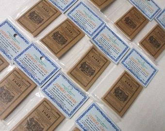 MINIATURE 1853 FARMERS ALMANAC lot of 12 Dollhouse Mini Books Wholessale