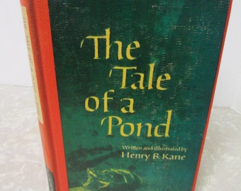 The Tale of a Pond - Kids Educational Vintage Book 1960s