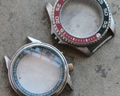 Large Wrist Watch Cases -- set of 2 -- D6