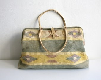 SALE Southwest Tapestry Duffle Bag